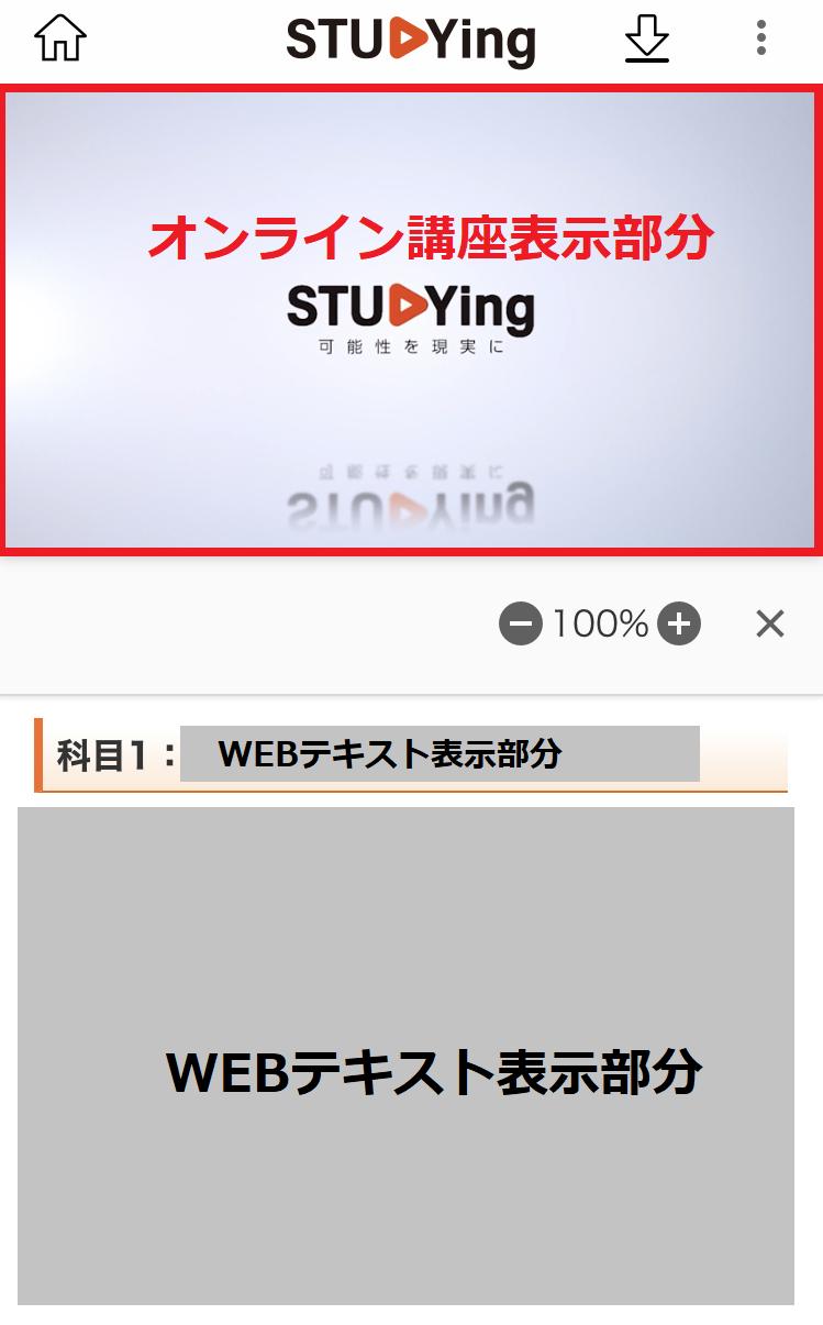 スタディングFP講座WEBテキスト表示部分のスクリーンショット